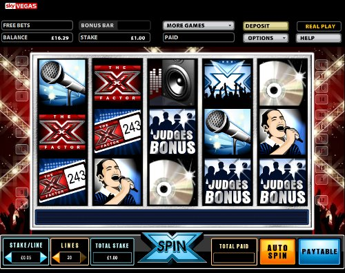 free slots x factor